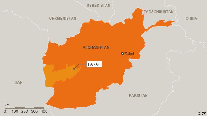 Karte Afghanistan Provinz Farah Deutsch