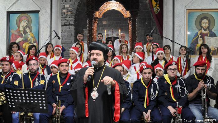 Orthodox Christmas in Syria
