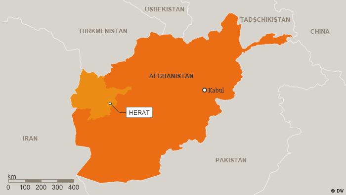Karte Afghanistan Provinz Herat Deutsch