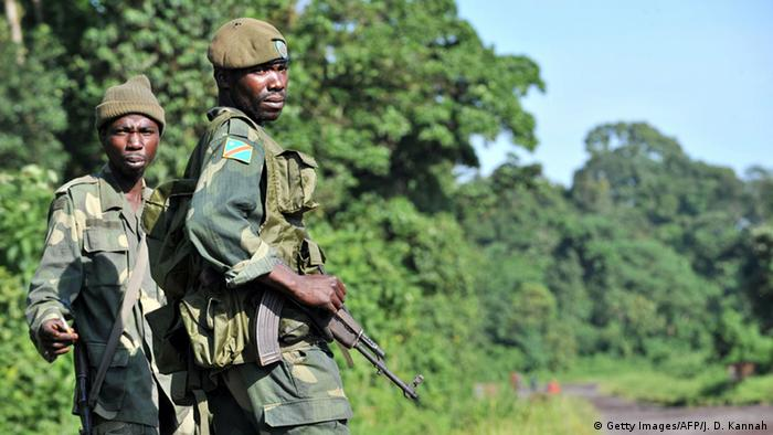 Kongo FARDC Soldaten (Getty Images/AFP/J. D. Kannah)