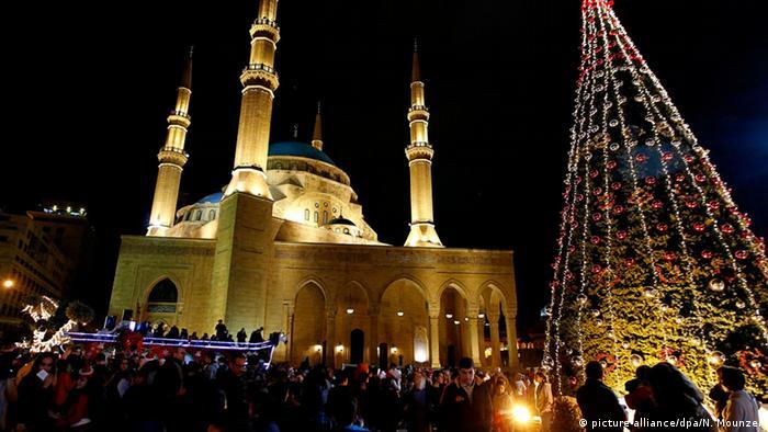 Beirut Weihnachten Karneval