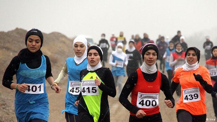 Bildergalerie Iran KW53 Frauen-Langlaufrennen