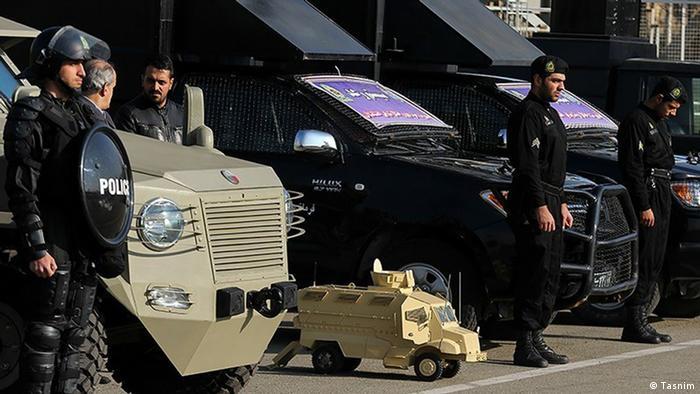 Bildergalerie Iran KW53 Polizei Ausrüstung
