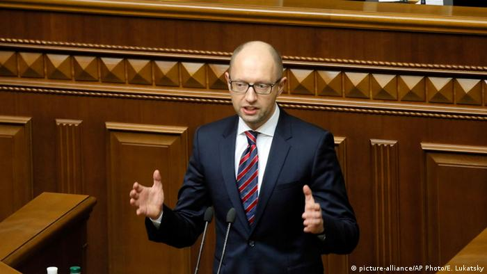 Ukrainian Prime Minister Yatsenyuk (Photo: AP)