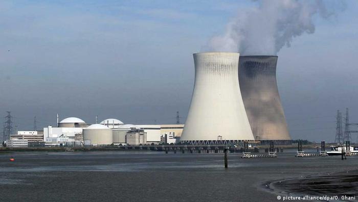 Belgien Doel Atomkraftwerk