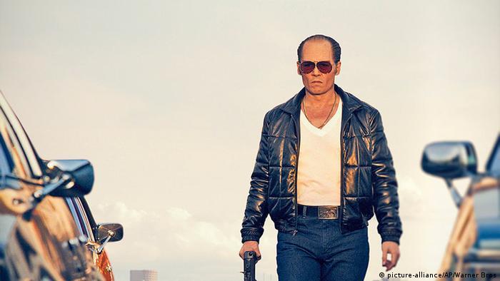 Johnny Depp als Whitey Bulger in the film Black Mass )Warner Bros. Entertainment via AP)