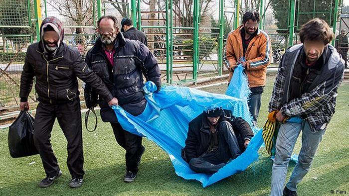 Bildergalerie Iran KW53 Drogenabhängige