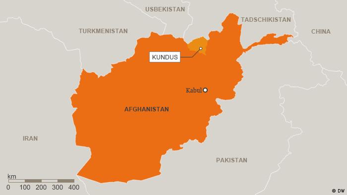 Karte Afghanistan Provinz Kundus Deutsch