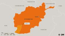 Karte Afghanistan Provinz Nimrus Deutsch (DW)