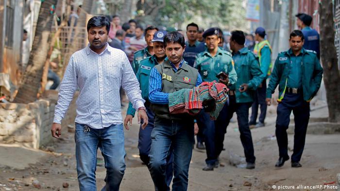 Bangladesh Sicherheitspersonal Festnahme