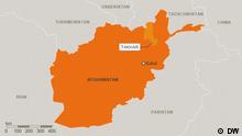 Karte Afghanistan Provinz Takhar Deutsch (DW)