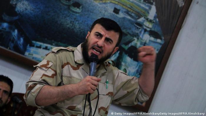 Radikaler Rebellenführer Sahran Allusch in Syrien getötet (Getty Images/AFP/A.AlmohibanyGetty Images/AFP/A.Almohibany)