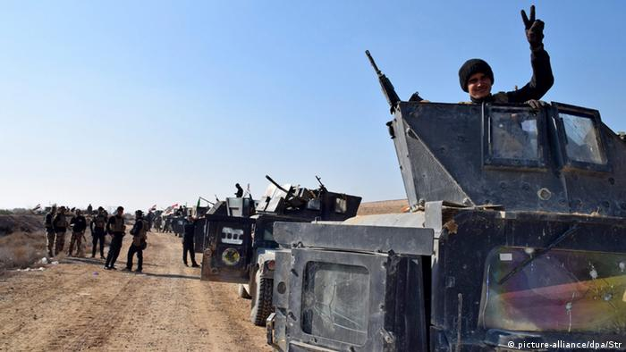 Iraqi Military in fight against IS in Ramadi