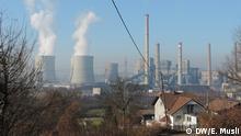 Bosnien Herzegowina Luftverschmutzung Tuzla