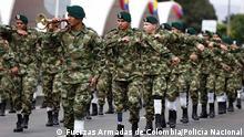 Kolumbien, Verletzte Soldaten durch Personen Minen der FARC. Copyright: Fuerzas Armadas de Colombia/Policía Nacional via Jose Ospina-Valencia, DW Spanisch