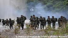 Kolumbien, Streitkräfte, Verteidigung der Karibik. Copyright: Fuerzas Armadas de Colombia/Policía Nacional via Jose Ospina-Valencia, DW Spanisch
