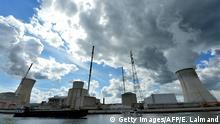 Atomkraftwerk in Tihange Belgien
