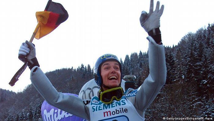 Sieger der vier Einzelwettbewerbe der Tournee Sven Hannawald