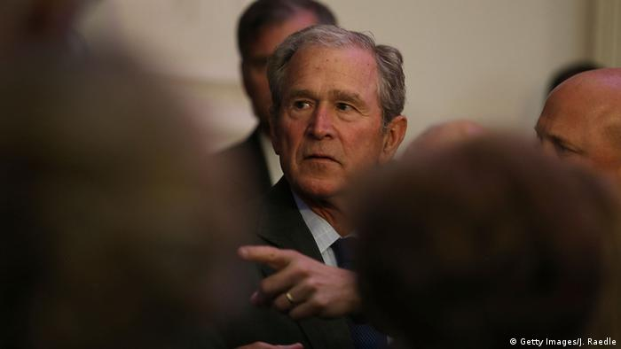 ehemaliger Präsident George W. Bush USA (Getty Images/J. Raedle)