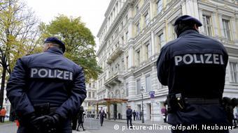 Сотрудники полиции в Вене (фото из архива)