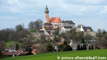 Kloster Andechs mit der Wallfahrtskirche