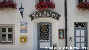 Kloster Andechs am Ammersee Bayern Bräustüberl