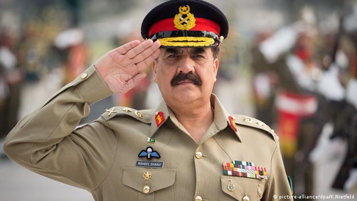 Raheel Sharif Pakistan (picture-alliance/dpa/K.Nietfeld)