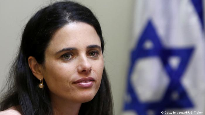 Israel Justizministerin Ajelet Schaked (Foto: AFP)