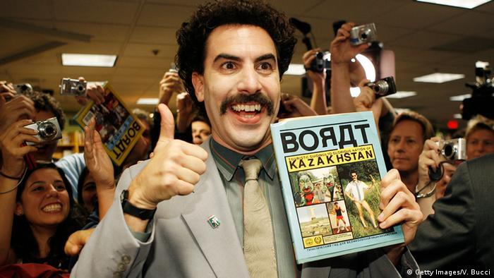 Auch die Kasachstan-Hymne der Kunstfigur Borat wurde schon bei Sportveranstaltungen gespielt