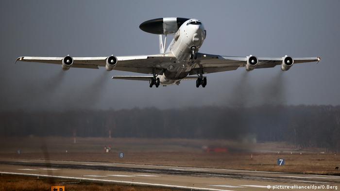 Літак НАТО типу AWACS