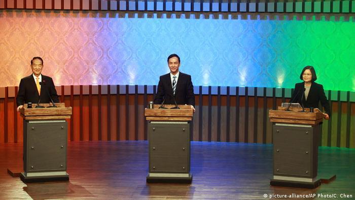 Taiwan Wahlen 2015 TV-Debatte