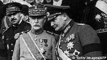 Philippe Pétain und Hermann Goering