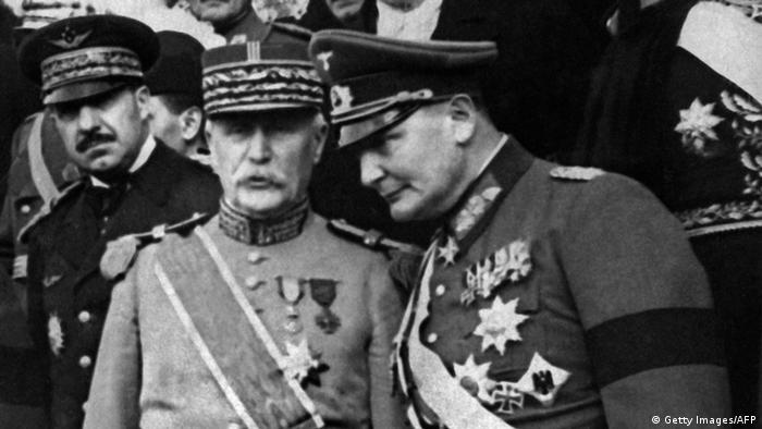 Philippe Pétain e Hermann Goering