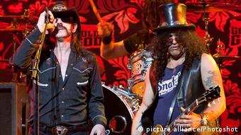 Lemmy Kilmister and Slash perform in Los Angeles