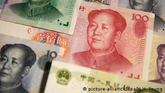 Yuan China Währung Peking Wert (picture-alliance/dpa/H.H. Young)