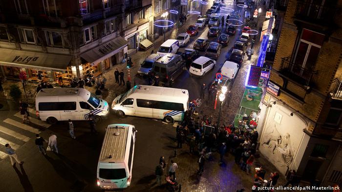 Belgien Terrorismus Polizei Razzia Durchsuchungen Brüssel