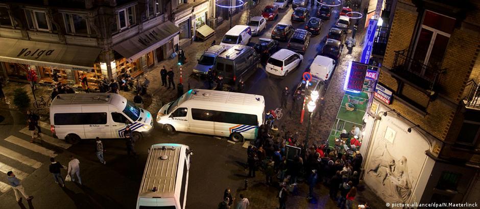 Batida policial em residência em Bruxelas