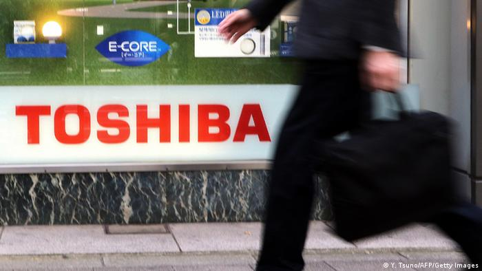 Japan Toshiba Logo in Tokio (Y. Tsuno/AFP/Getty Images)