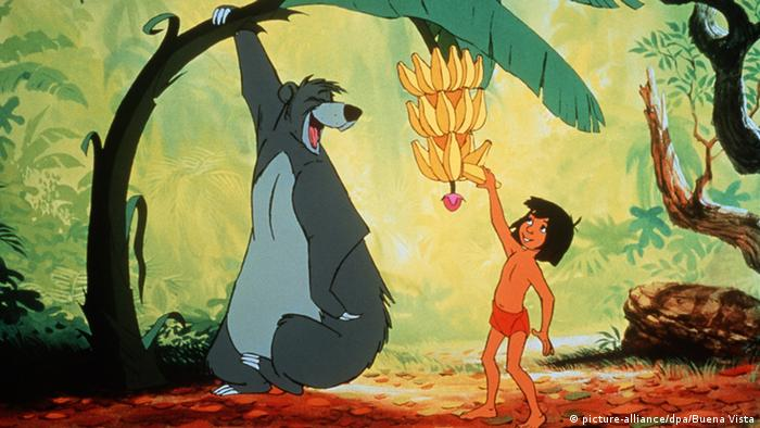 Scene from the Walt Disney movie The Jungle Book