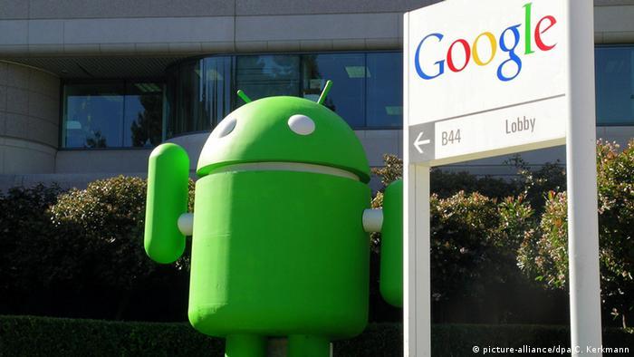 Эмблема ОС Android от компании Google