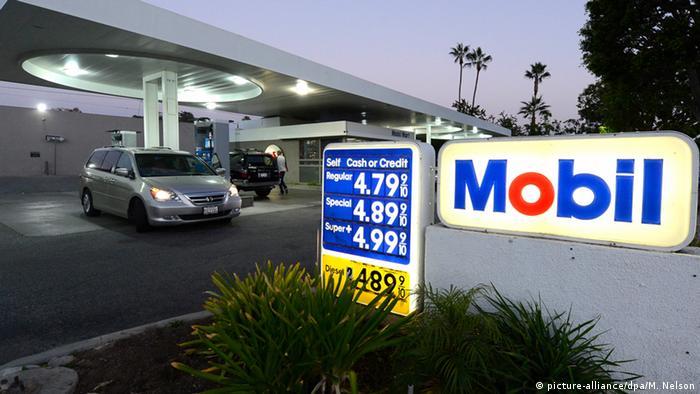 АЗС Exxon Mobil