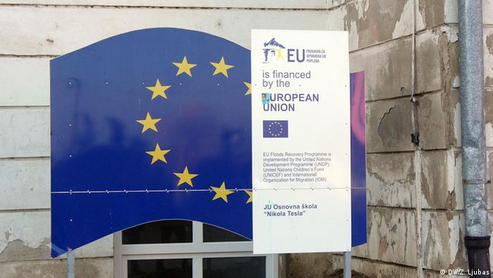 Bosnien und Herzegowina Nachwirkungen der letztjährigen Überschwemmungen (DW/Z. Ljubas)