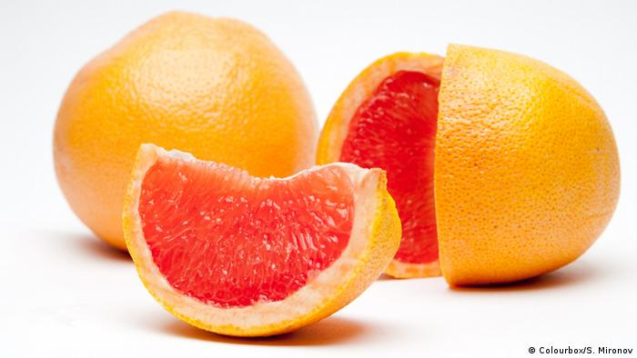 Грейпфрут и масло лимона