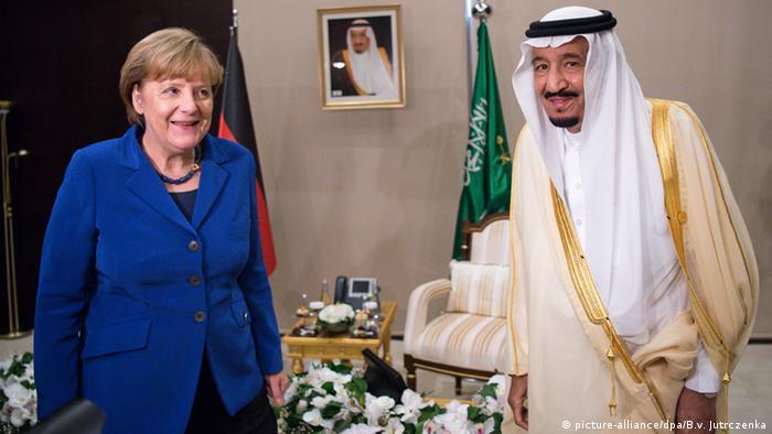 Türkei Angela Merkel & Salman bin Abdulaziz Al Saud König Saudi-Arabien
