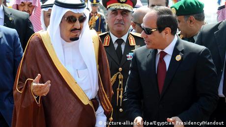 Ägypten Abdel Fattah al-Sisi & Salman bin Abdulaziz Al Saud
