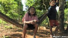 Paraguay Guarani Dorf Itaguasú