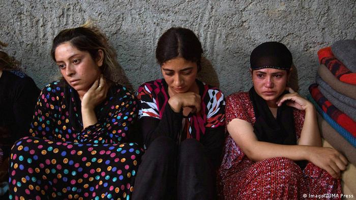 Irak Jesidische Frauen Flüchtlinge (Imago/ZUMA Press)