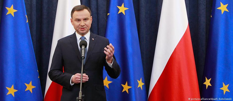 Presidente polonês, Andrzej Duda
