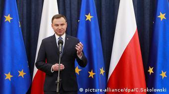 Andrzej Duda Polen Präsident