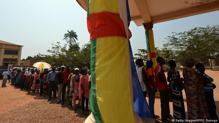 bürger in zentralafrika